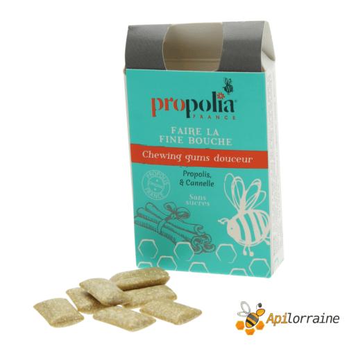Chewing gum Propolis & Canelle CHGUMCAN apilorraine/propolia
