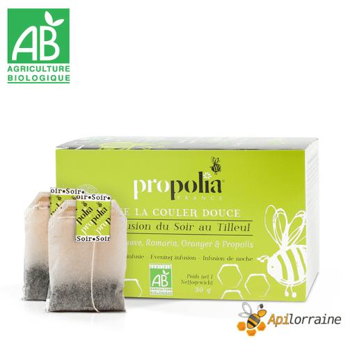 Infusion Bio du soir, Propolis & Plantes AB INFUSOB
