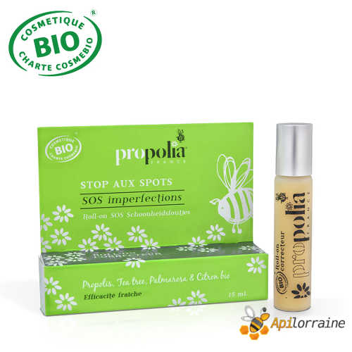Roll-on SOS imperfections Propolis, Tea tree BIO ROLLIMPERF