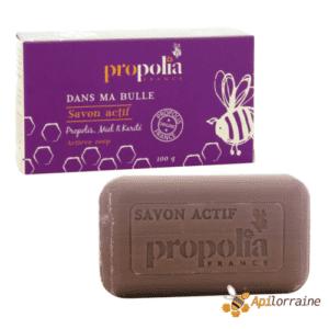 Savon actif Propolis, Miel & Karité SAVACTI