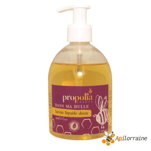 Savon liquide main doux, Miel & Coco SAVLIMAMIEL apilorraine/propolia
