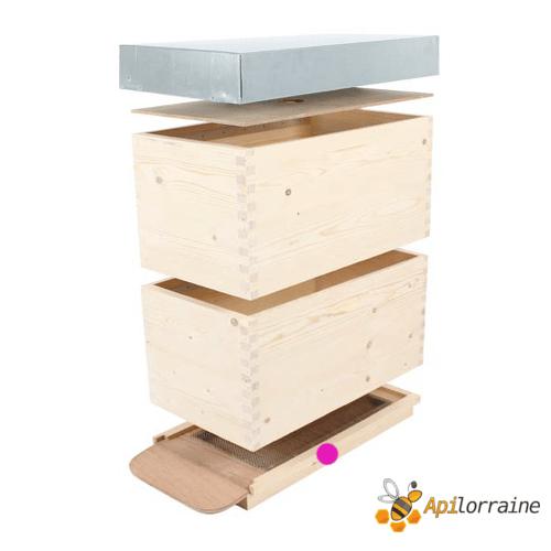 Fond aération total + tiroir Alsacienne Couchée 11551