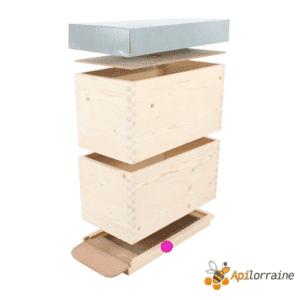 Fond aération total + tiroir Alsacienne Haute 11661