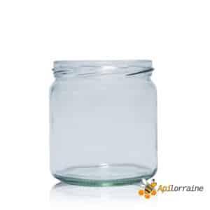 Pot en verre miel 390ml TO82 ( 500gr Bas )