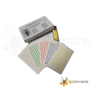 set 5 couleurs de pastilles qualite allemande+colle+applicateur