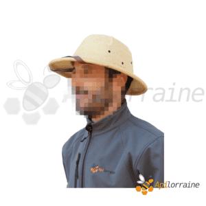 Chapeau colonial apiculteur réglable