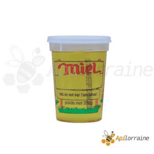 Pot nicot plastique 4 Couleurs 250Gr