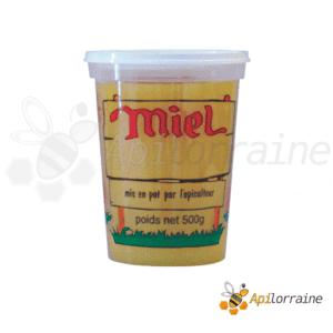 Pot nicot plastique 4 Couleurs 500Gr