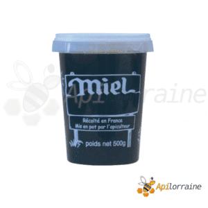 Pot miel nicot plastique 500gr
