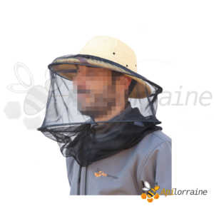 Voile noir pour chapeau apiculteur