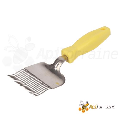 Fourchette à désoperculer jaune