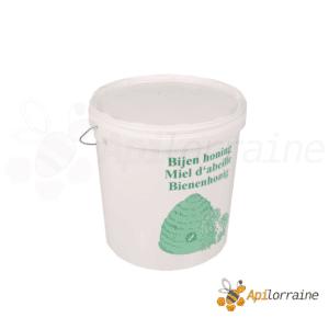 Seau à miel en plastique alimentaire 25kg imprimé