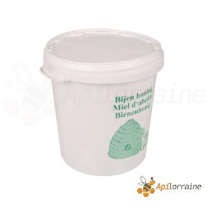 Seau à miel en plastique alimentaire 40kg imprimé