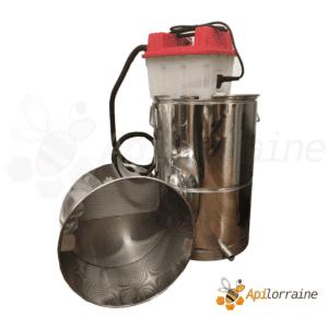 Chaudiere à cire vapeur et filtration