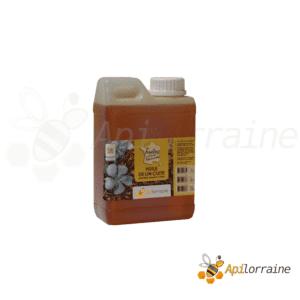 Huile de lin cuite pour ruche 1 litre