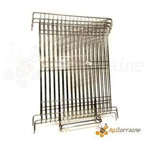 Kit 3 grilles inox pour extracteur Base et Premium 9 cadres de hausse Dadant cage nylon