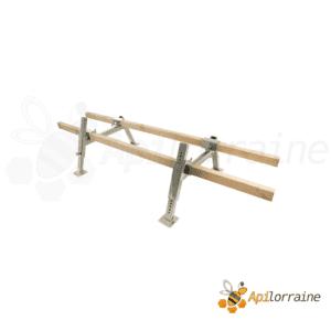 Support de ruche en acier galvanisé la paire