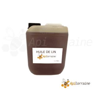 Huile de lin pour ruche 5 litre