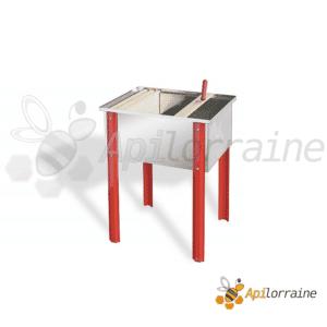 Bac à désoperculer en acier inox 65x48x30cm