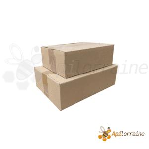 Carton d'emballage pot miel
