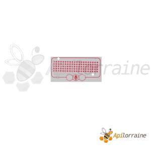 Pastilles de marquage reine rouge