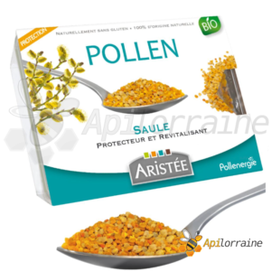 POLLEN FRAIS DE SAULE pollenenergie aristée